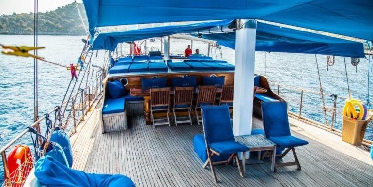 Kiralık 9 Kabin Gulet Tekne 11