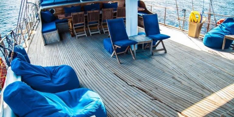 Kiralık 9 Kabin Gulet Tekne 12